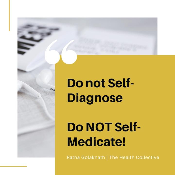Do Not Self-Diagnose