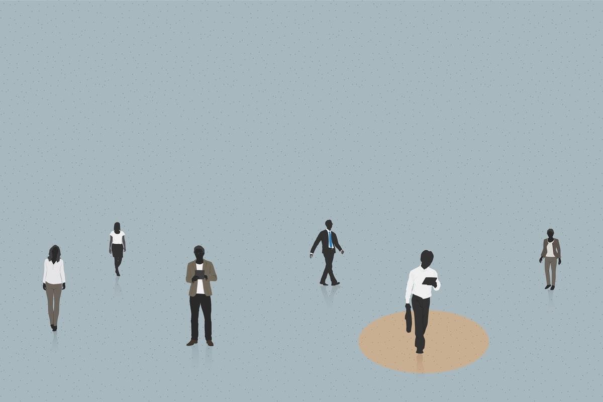 Social Distancing Raw Pixel