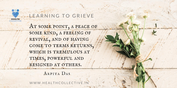Health Collective Learning to Grieve