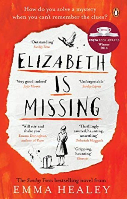 Book Cover Elizabeth is Missing