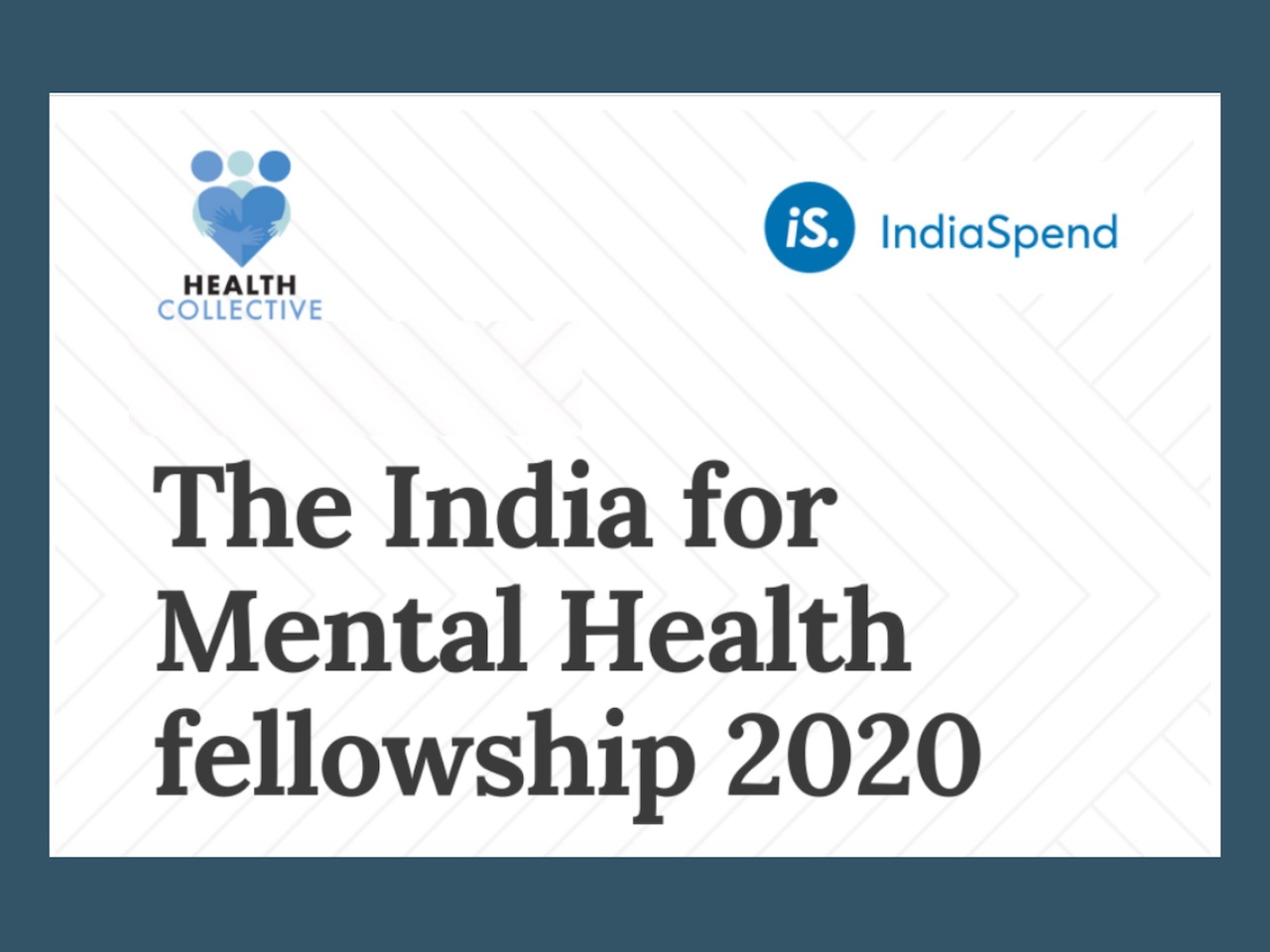 Health Collective and India Spend