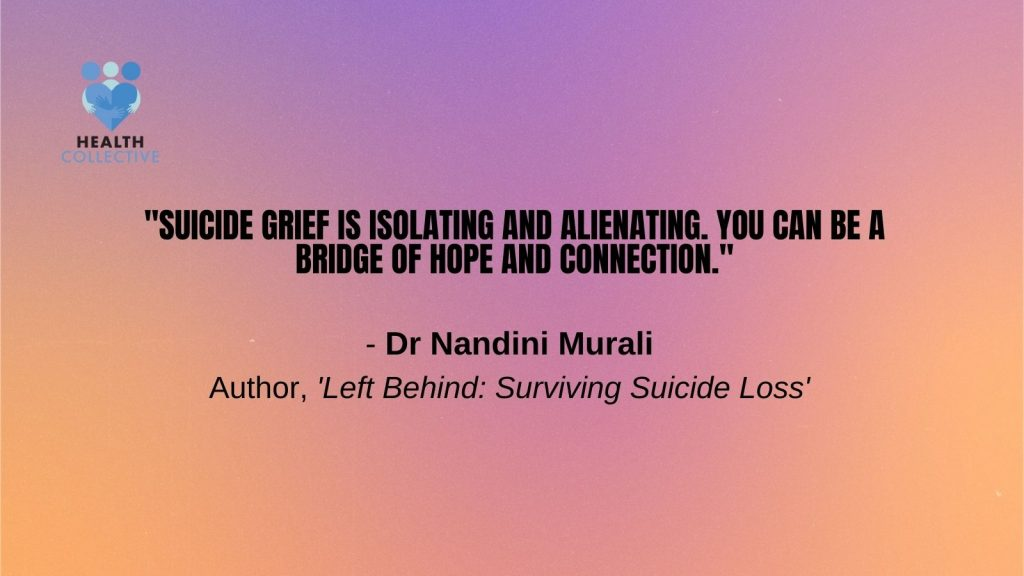 Shares a quote by Nandini Murali